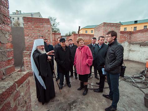 ВОренбурге Рождество Богородицы встречают Крестным ходом