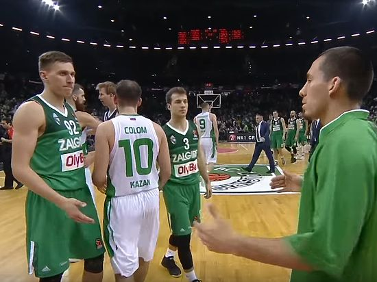 «УНИКС» одержал победу над литовским «Жальгирисом» срезультатом 88:80