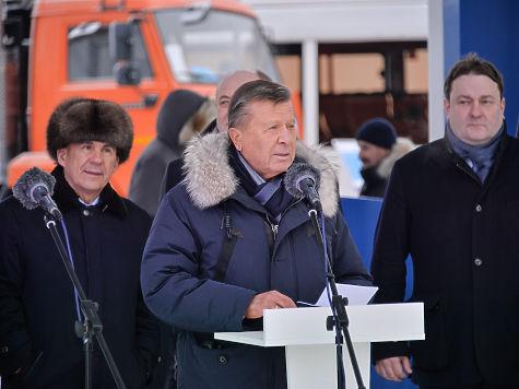 Зубков вКазани: «Газпром» к 2020г построит несколько сотен газозаправочных станций