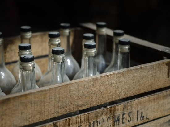 В Татарстане фальшивую водку «бодяжили» в стиральной машине