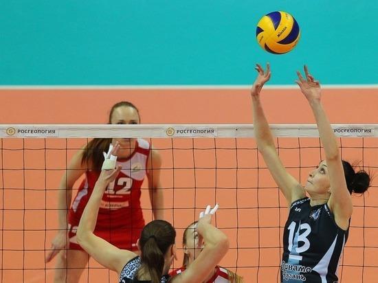 Волейболистки казанского «Динамо» вышли вфинал чемпионата РФ