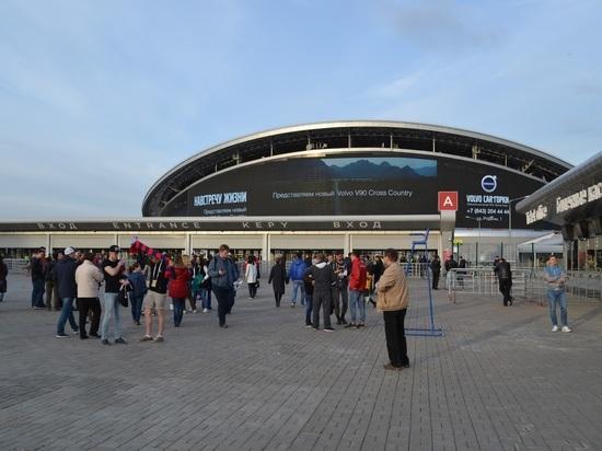 «Казань Арена» успешно справилась с тестовым матчем перед Кубком конфедераций
