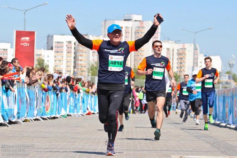 Тольяттинец Юрий Чечун стал серебряным призером Казанского марафона
