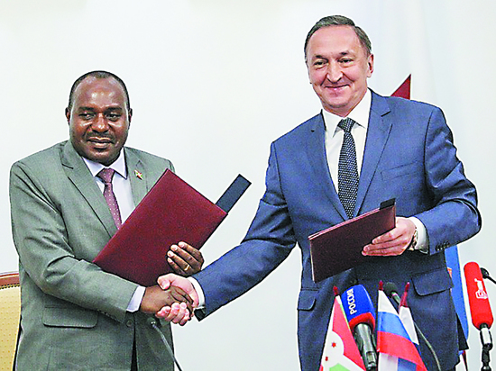 Мордовия подружилась с Бурунди
