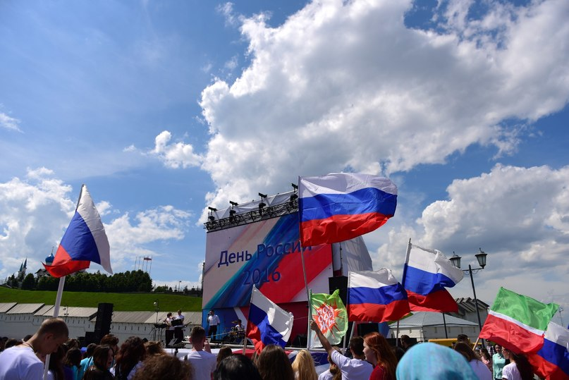 ВДень РФ вКазани праздничные мероприятия закончатся концертом ифейерверком