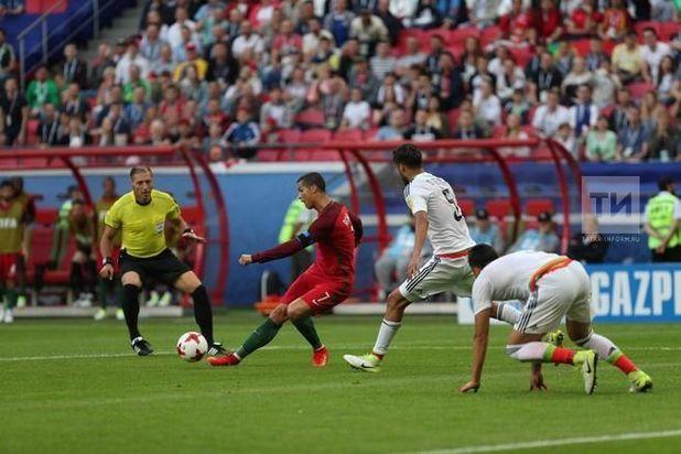 Неменее 34 тыс. болельщиков пришли 18июня наматч «Португалия-Мексика»