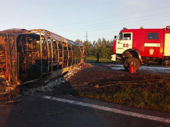 Стало известно о14 погибших вДТП спассажирским автобусом вТатарстане