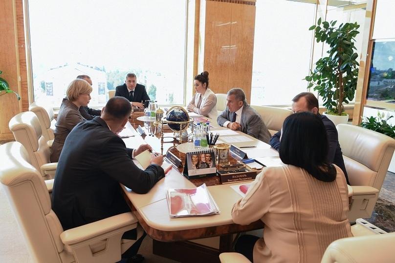 Johnson & Johnson может принять участие впроектах помодернизации медучреждений вТатарстане