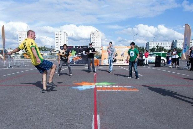 12августа вКазани пройдут состязания подворовой игре «квадрат»