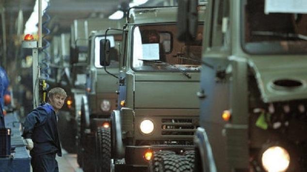 Виюле «КамАЗ» увеличил производство на15% class=