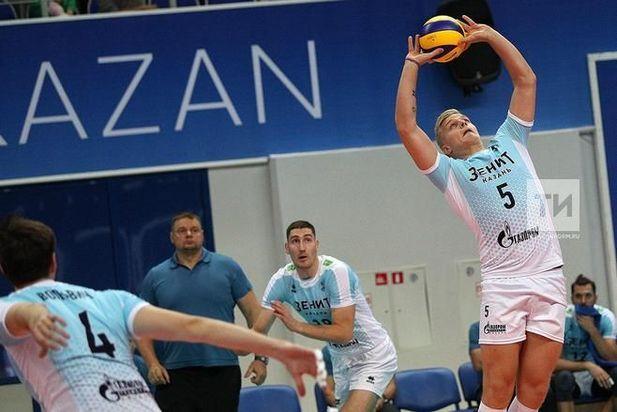Волейбольный «Зенит» обыграл «Ярославич» встартовом матчеЧР