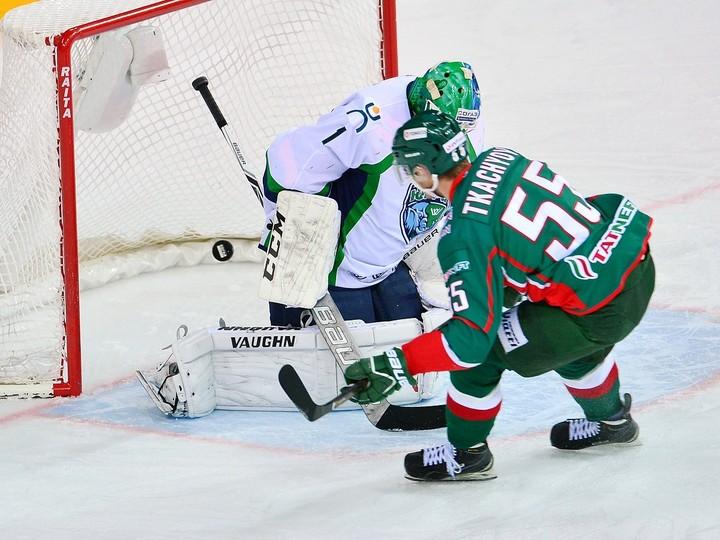 «АкБарс» одержал 3-ю победу подряд вКХЛ, обыграв «Югру»