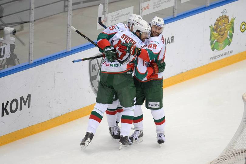 Казанский «АкБарс» побуллитам уступил «Динамо»