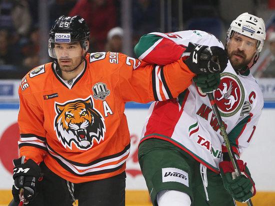 В Хабаровске «Амур» прервал 100-минутную «сухую» серию Эмиля Гарипова