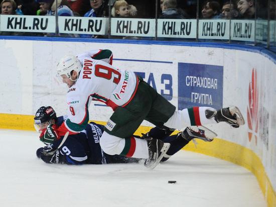 «Ак Барс» в Минске проиграл в третий раз подряд