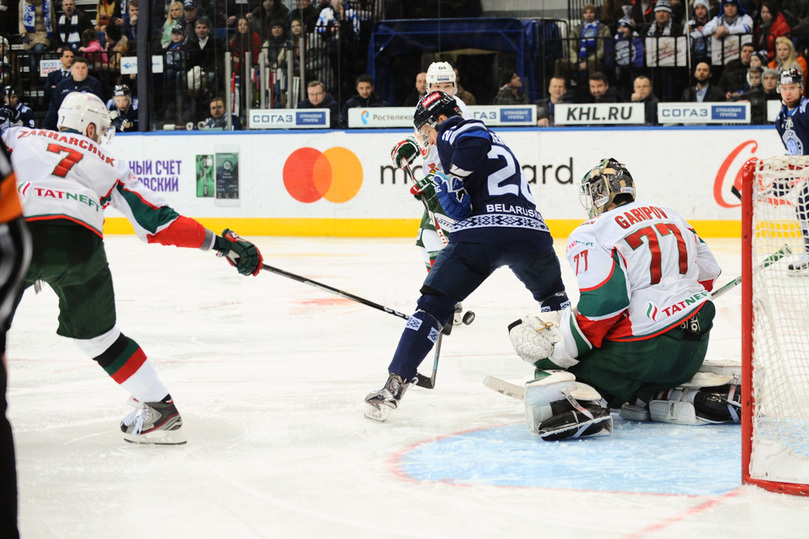 Хоккеисты минского «Динамо» разгромили одного излидеров Восточной конференции