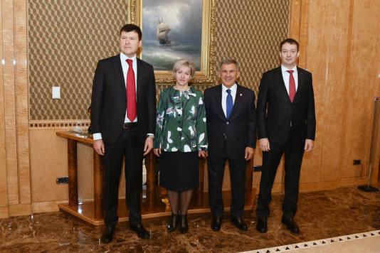 Марат Шарифуллин возглавил Нацбанк Татарстана