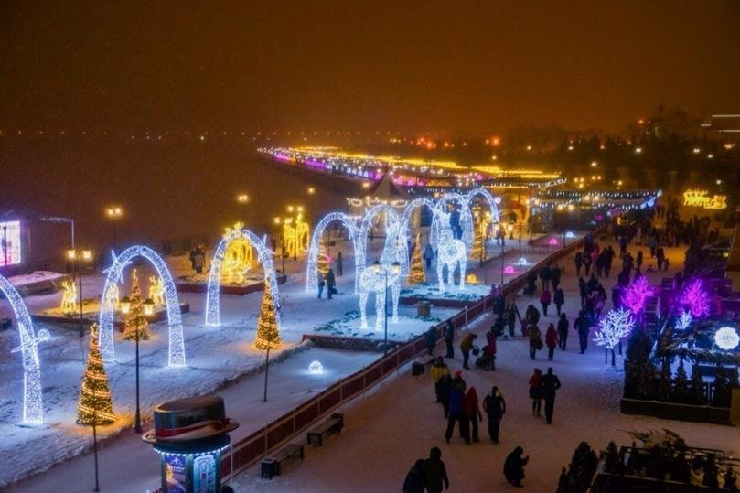Чудный городок наКремлевской набережной Казани ожидает гостей с16декабря