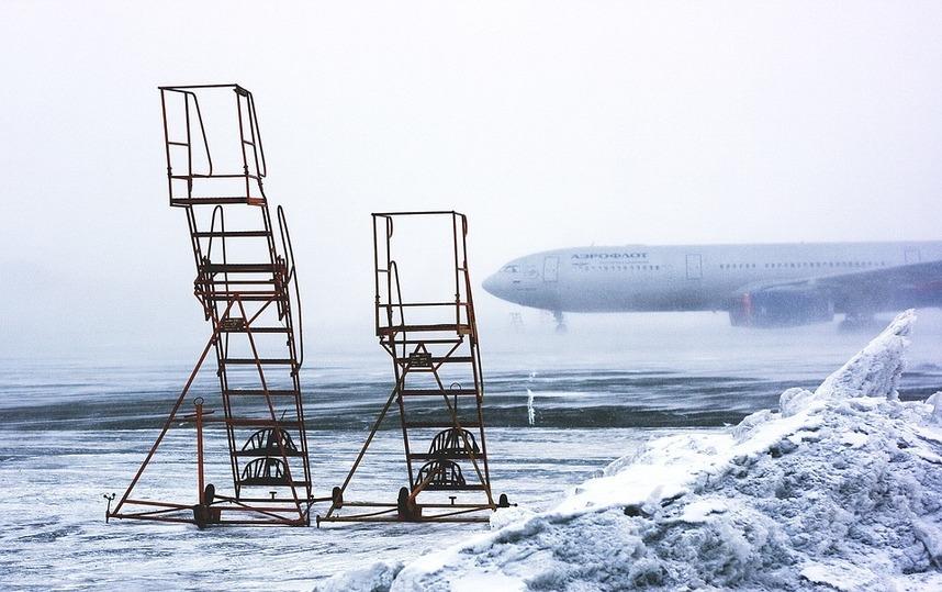 Аэропорт Казани возобновил работу после временного закрытия из-за обледенения