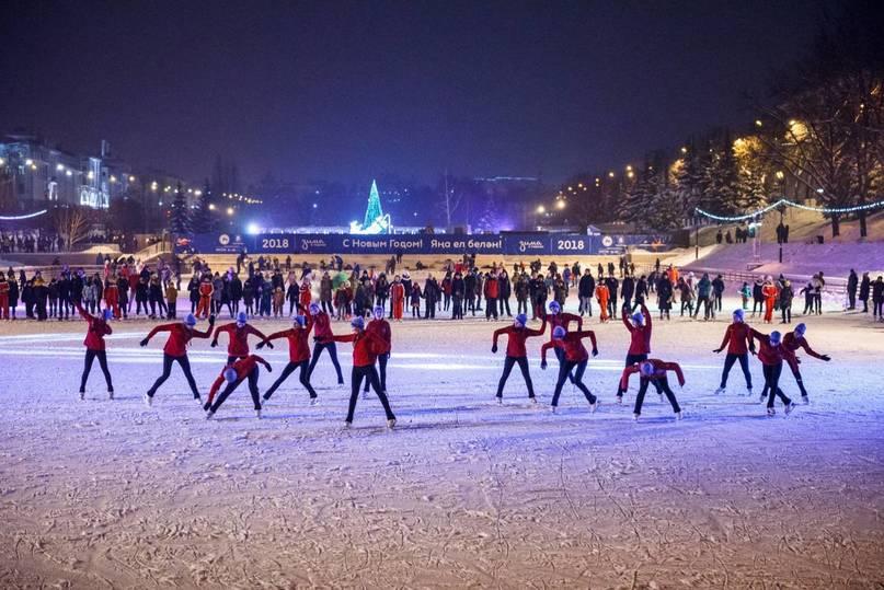 Казанцам предлагают встретить Новый год впарках