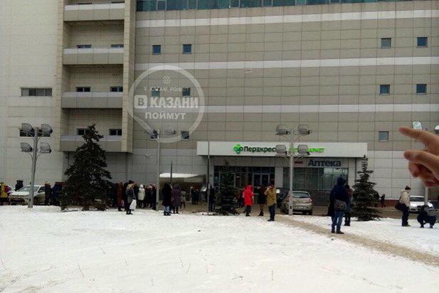 Взрывчатку в коммерческом комплексе «Сувар Плаза» вКазани ненашли— МВД Татарстана