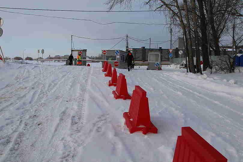 Верхний Услон: ВТатарстане открылась 3-я ледовая переправа Аракчино