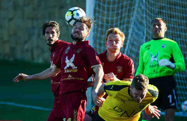 «Рубин» сыграл вничью снорвежским «Лиллестрёмом» вконтрольном матче