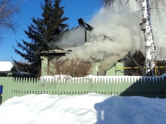 В Казани мужчина во время пожара получил страшные ожоги