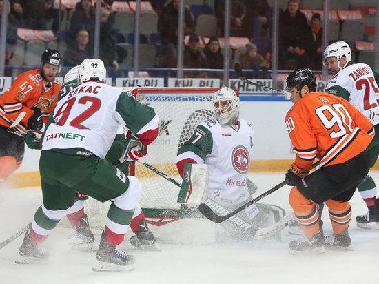 КХЛ: «Ак Барс» повел в серии с «Амуром» 3:1