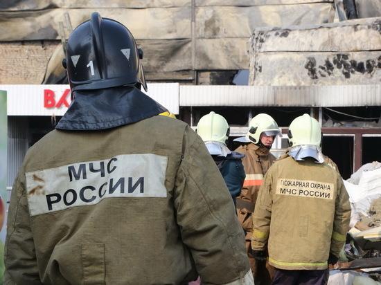 При пожарах в Татарстане погибли двое мужчин