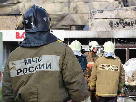 ВКазани напожаре погибло два человека, очередной  попал вреанимацию