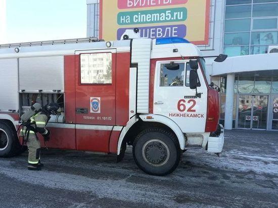 ВНижнекамске из-за задымления вТЦ срочно эвакуировали гостей