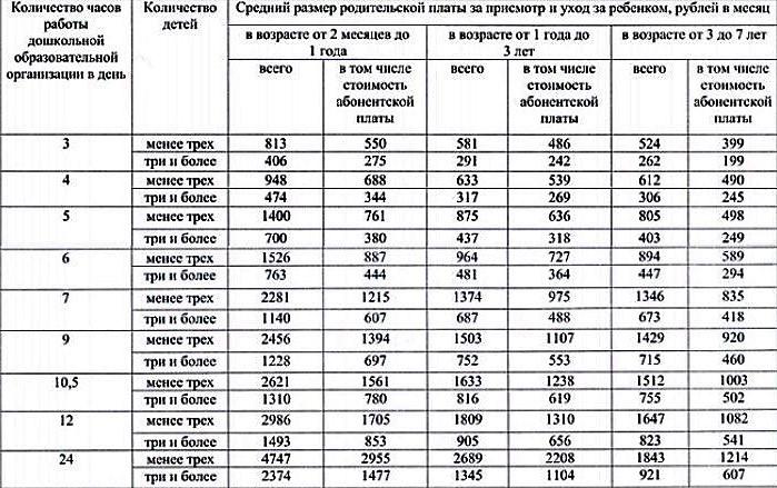 ВТатарстане установили средний размер платы задетсад в 2017-ом