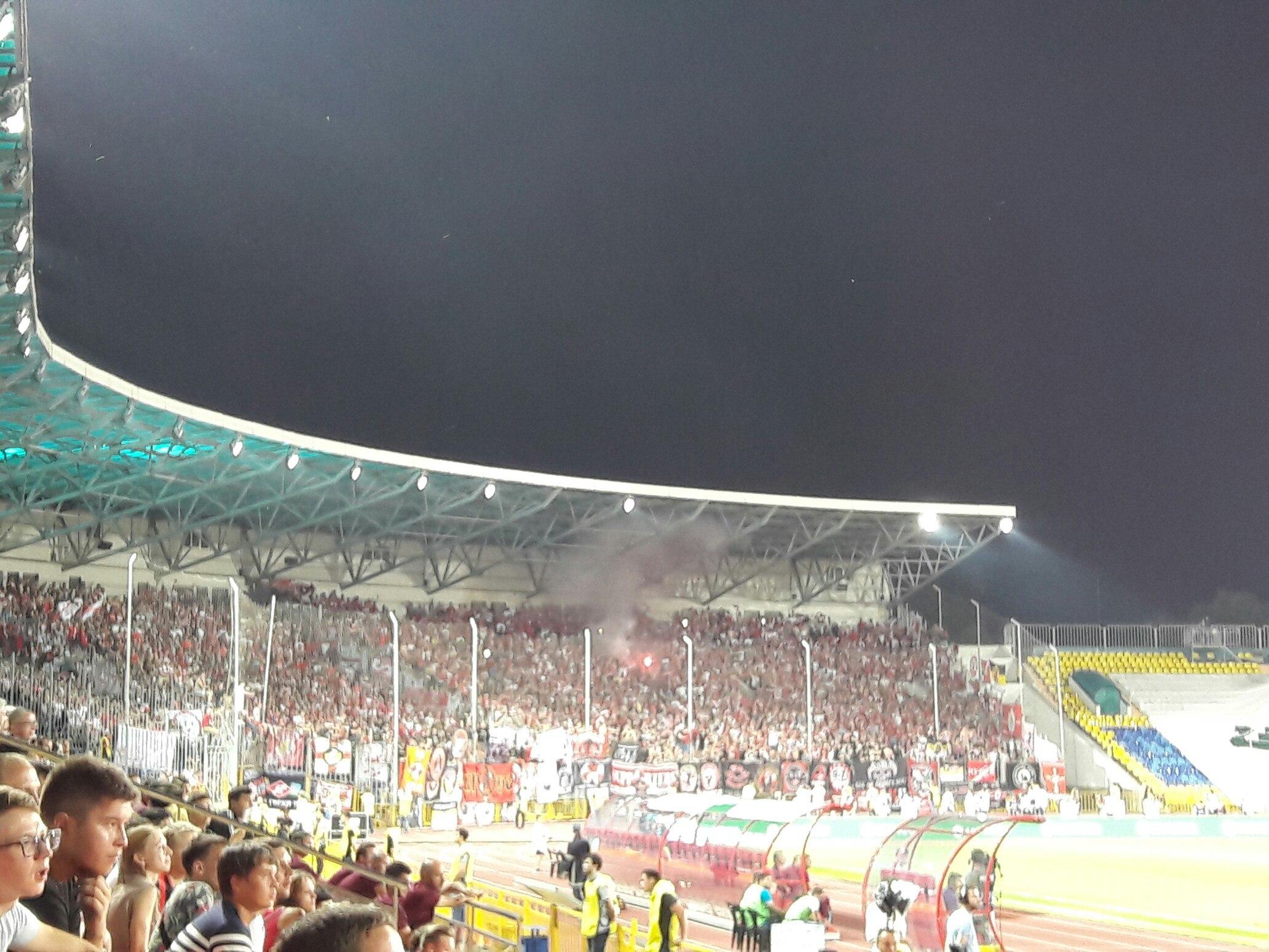 «Спартак» оштрафовали на220 тыс. после матча с«Рубином» из-за болельщиков